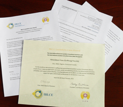 Award Documents